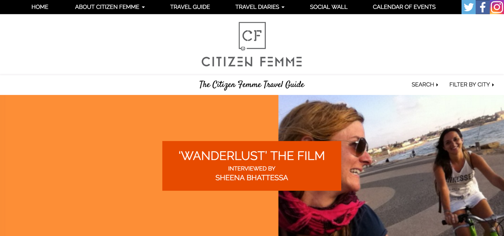 Wanderlust interviewed by CITIZEN FEMME